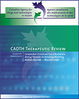 Cover of Comparative Clinical and Cost-Effectiveness of Drug Therapies for Relapsing-Remitting Multiple Sclerosis