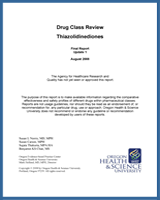 Cover of Drug Class Review: Thiazolidinediones