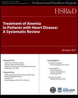 Cover of Treatment of Anemia in Patients with Heart Disease: A Systematic Review