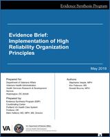 Evidence Brief Implementation Of High Reliability Organization Principles Ncbi Bookshelf
