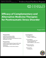 Cover of Efficacy of Complementary and Alternative Medicine Therapies for Posttraumatic Stress Disorder