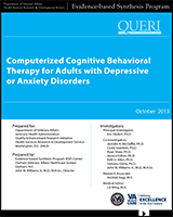 Computerized Cognitive Behavioral Therapy For Adults With Depressive