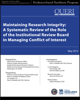 Cover of Maintaining Research Integrity