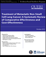 Cover of Treatment of Metastatic Non-Small Cell Lung Cancer: A Systematic Review of Comparative Effectiveness and Cost-Effectiveness