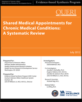 Cover of Shared Medical Appointments for Chronic Medical Conditions: A Systematic Review