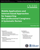 Cover of Mobile Applications and Internet-based Approaches for Supporting Non-professional Caregivers: A Systematic Review