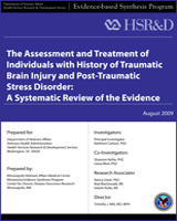 Cover of The Assessment and Treatment of Individuals with History of Traumatic Brain Injury and Post-Traumatic Stress Disorder