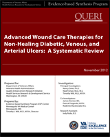 Cover of Advanced Wound Care Therapies for Non-Healing Diabetic, Venous, and Arterial Ulcers: A Systematic Review