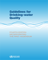 Cover of Guidelines for Drinking-Water Quality: Fourth Edition Incorporating the First Addendum