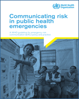 Cover of Communicating risk in public health emergencies
