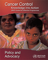 Cover of Cancer Control: Knowledge into Action