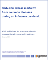 Cover of Reducing Excess Mortality from Common Illnesses During an Influenza Pandemic