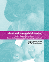 Cover of Infant and Young Child Feeding