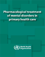 Cover of Pharmacological Treatment of Mental Disorders in Primary Health Care