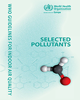 Cover of WHO Guidelines for Indoor Air Quality: Selected Pollutants