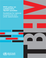 Cover of WHO Policy on Collaborative TB/HIV Activities