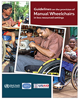 Cover of Guidelines on the Provision of Manual Wheelchairs in Less Resourced Settings