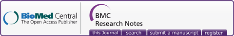 Logo of bmcresnotes