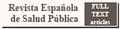 Icon for Revista Espanola de Salud Publica
