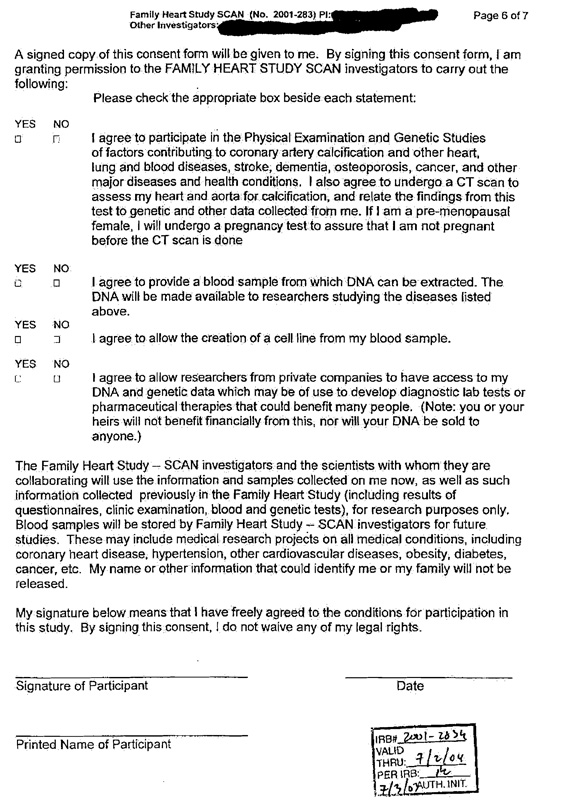 appendix 9 family heart study scan consent form