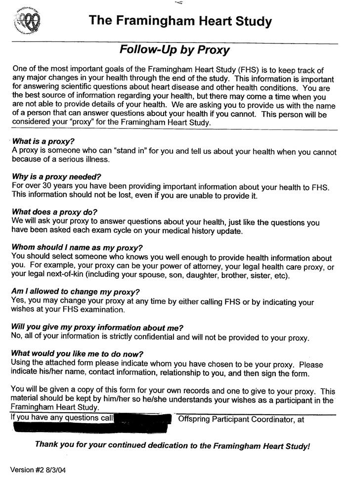 Clinic Exam Offspring Cohort Exam 8 Protocol Dbgap Id Phd001514