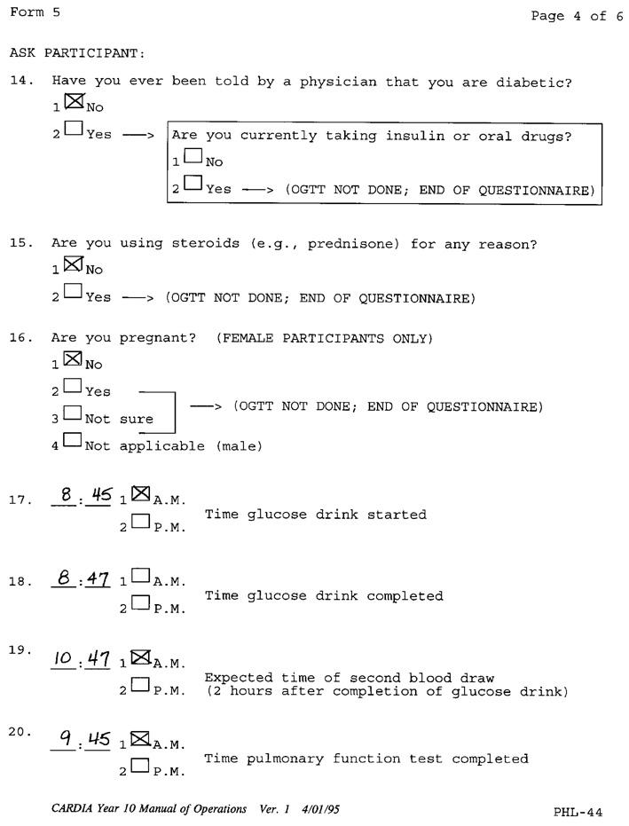 Exam 5 Blood Drawinghandling Manual Phl Dbgap Id Phd003467