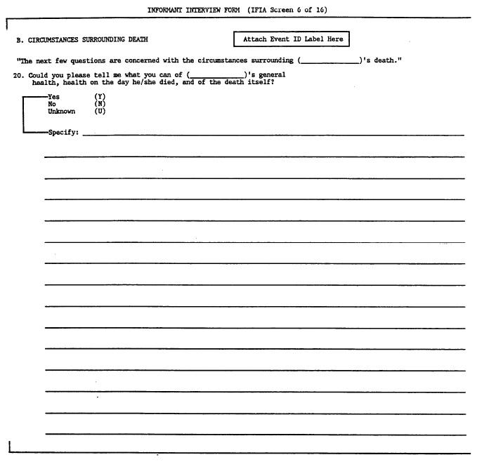 Manual 3 - Surveillance Component Procedures - Visit 3