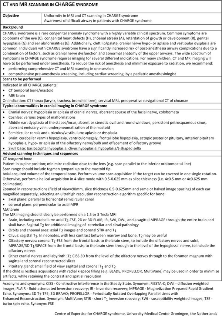 CHARGE Syndrome - GeneReviews® - NCBI Bookshelf