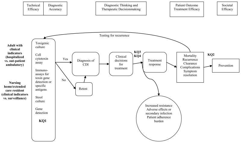 figure a is a flow diagram illustrating the clinical path for patients with  the potential to